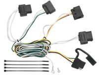 Trailer Hitch Wiring Tow Harness For Ford Focus All Styles 2008 2009 2010 2011