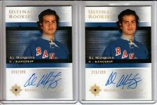 2005-06 Ultimate Collection #124 Alvaro Montoya 2 x RC LOT Auto /399