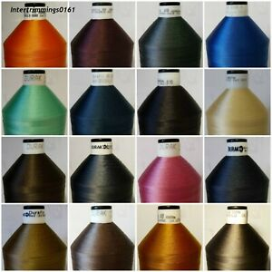 TOP QUALITY DURAFIX 100% POLYESTER THREAD 40'S, 6000MTR SPOOL, ASSORTED COLOURS