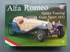 POCHER #K73  1/8  ALFA ROMEO SPIDER TOURING GRAN SPORT - FACTORY SEALED INSIDE