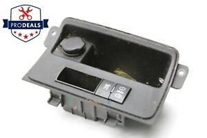 2009 2012 Chevrolet Traverse Switch housing w Track Control Wiper 22864152 OEM