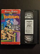 The Flintstones - A Haunted House Is Not a Home (VHS, 1990) Hanna-Barbera