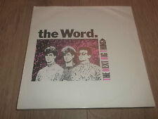 "THE WORD "" THE NEXT BIG THING "" 12"" NEW WAVE VINYL 1984 EX/VG+"