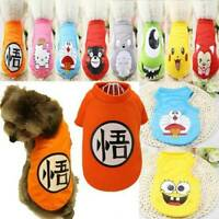 Fashion Small Pet Dog Costume Clothes Vest Puppy Cat T-Shirt Summer Apparel New