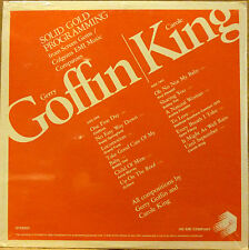 SEALED PROMO ROCK DOUBLE LP: GERRY GOFFIN, CAROLE KING SOLID GOLD Screen Gems