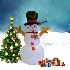 5Ft Airblown Inflatable Christmas Snowman Gemmy Decor Lighted Lawn Yard Outdoor