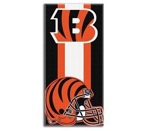NEW Cincinnati Bengals Football Team Licensed Beach Towel 30'' x 60''