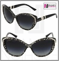 BVLGARI MUSA Cat Eye BV8151BM Black San Pietrino Gradient Sunglasses 8151