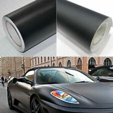 """12x60""""Matte Black Vinyl Film Wraps Car DIY Stickers Vehicle Decal 3D Bubble Free"""