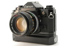 *N.MINT* Canon A-1 35mm Film Camera FD 50mm f/1.4 S.S.C. + A2 Winder From JAPAN