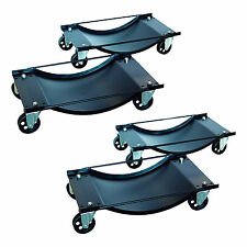 4 Car Wheel Dollies Car Skates Dolly Van Positioning Garage Jack New