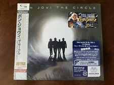 The Circle by Bon Jovi (Japan SHM-CD, CD+DVD, Universal) NEW