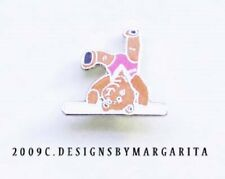 NEW! Gymnastics Bear on Beam Pin - #3216