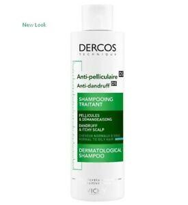 Vichy Dercos Anti Dandruff Hair Treatment Shampoo 200ml Normal / Oily  Hair