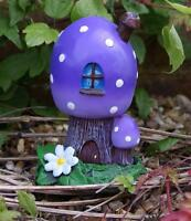 FAIRY HOME / TOADSTOOL/ HOUSE INCENSE BURNER - OR GARDEN DECOR CH_40723