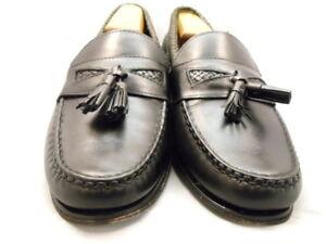 "Allen Edmonds Men's Shoes ""Maxfield"" Tassled Loafers Black 9.5 D (136)"