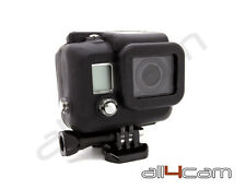 Fits GoPro HERO 3 Silicon Case Protective Dirt proof Skin Black Rubber Cover