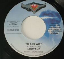 "7""/JAMAICA/I-OCTANE/YU A DI WIFE/BEENIE MAN/CAN`T DEFEAT MI/for heart of love"