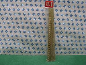BORDURE  OTTONE  Tipo a semicer  10 pezzi da cm. 25  -  EURONAVI  art. 1078