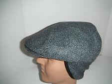 Woolrich Cabbie wool tweed Earlaps Hat Cap small