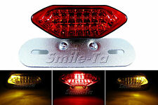 Motorcycle Custom LED Tail Light Integrated Turn Signals Café Racer Project Bike