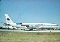 Fast Air Boeing B 707 331C CC CAF at Miami International Florida 1979