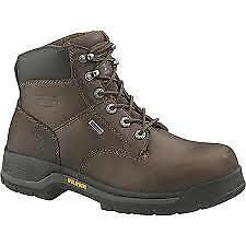 "Wolverine Harrison GORE-TEX Waterproof Steel Toe EH 6"" Work Boot W05683"