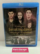 Twilight: Breaking Dawn 2: Blu-ray movie - Canadian - tested - with Warranty