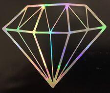 Diamond Rainbow Holographic Vinyl Car Decal Sticker Window Laptop Mirror 16-05