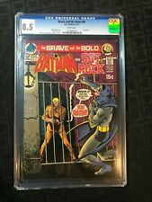 The Brave And The Bold #96 CGC 8.5 VF+ Batman & SGT Rock