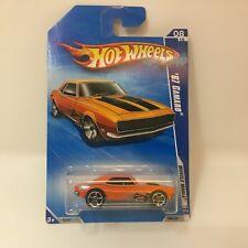 '67 Camaro #86 * Orange * 2010 Hot Wheels * B17