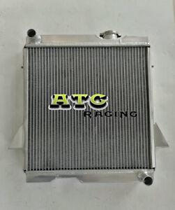 5 Row All Aluminum radiator for Triumph TR6 1969-1974 / TR250 1967 1968