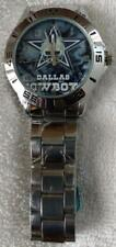 DALLAS COWBOYS WRIST WATCH STAINLESS STEEL BAND BRAND NEW IN PACKAGE!!!