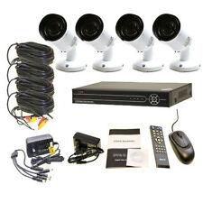 4CH 4 CH 960P IR Camera CCTV Security System DVR Network Remote