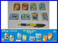Set 8 Mini Figuras Disney Pixar Collection Blister Nemo Toy Story Incredibles