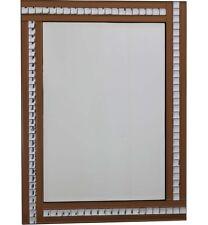 Triple Bar Mirror BronzeRectangle Wall Mirror 60cm x 80cm