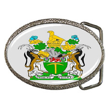 RHODESIA COAT OF ARMS FLAG BELT BUCKLE - GREAT GIFT ITEM
