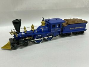 Lionel 312 4-4-0 Great Western Lincoln Logs General Locomotive & Tender