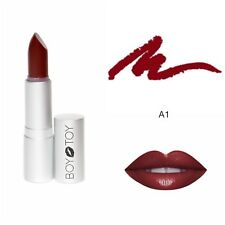 ALL NATURAL ORGANIC LIPSTICK - BOY TOY COSMETICS - 'A1' reddish brown lipstick