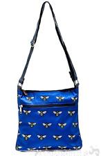 BEE DESIGN Cross Body tote messenger travel bag handbag purse bee lover gift