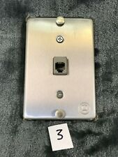 Vintage Att 630B-type Modular punch down connector Jack For Wall Telephones #3