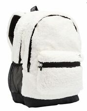 Victorias Secret PINK Sherpa Campus Backpack NWT Color Snow White