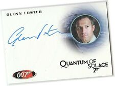 James Bond Heroes & Villains - A135 Glenn Foster - Mitchell Auto/Autograph Card
