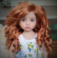 Monique Paige Wig 7/8 for Effner Little Darlings Kish BJD MSD Reddish Blonde