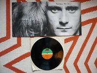 Phil Collins Face Value Vinyl 1981 Atlantic LP Genesis In The Air Tonight EXC+