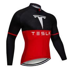 Cycling Long Sleeve Jersey Bib Bicycle Mountain MTB Bike Race Shirt Top Clothing