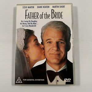 Father Of The Bride (DVD, 2002) 1991 film Steve Martin Diane Keaton Region 4