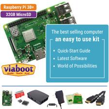 Raspberry Pi 3 B+ Starter Kit with 32GB MicroSD & Official Black Case