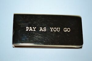 Paul Smith Mens PAY AS YOU GO Money Clip Brand New