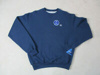 NEW VINTAGE Champion Sweater Adult Medium Blue Gray Pullover Crewneck Mens 90s